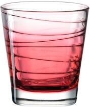 Leonardo Trinkglas VARIO STRUTTURA 250 ml rot, 6er-Set