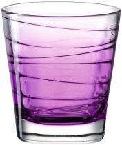 Leonardo Trinkglas VARIO STRUTTURA 250 ml violett, 6er-Set