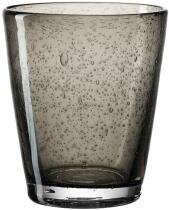 Leonardo Trinkglas BURANO 330 ml dunkelgrau, 6er-Set