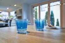 Leonardo Trinkglas VARIO STRUTTURA 250 ml blau, 6er-Set