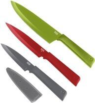 Kuhn Rikon COLORI®+ Set Messer Essential 3-teilig