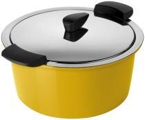 Kuhn Rikon HOTPAN® Servierkasserolle gelb 3L/22cm