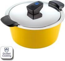 Kuhn Rikon HOTPAN® COMFORT Servierkasserolle gelb 2L/18cm
