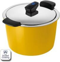 Kuhn Rikon HOTPAN® COMFORT Servierkochtopf gelb 5L/22cm