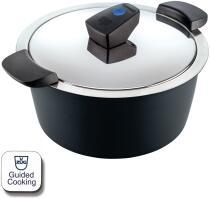 Kuhn Rikon HOTPAN® COMFORT Servierkasserolle schwarz 2L/18cm