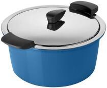 Kuhn Rikon HOTPAN® Servierkasserolle blau 2L/18cm