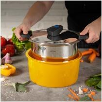 Kuhn Rikon HOTPAN® COMFORT Servierkasserolle gelb 3L/22cm
