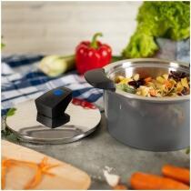 Kuhn Rikon HOTPAN® COMFORT Servierkasserolle grau 2L/18cm