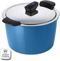 Kuhn Rikon HOTPAN® COMFORT Servierkochtopf blau 5L/22cm
