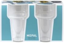 Mepal Set bierglas 250 ml san 2 stück