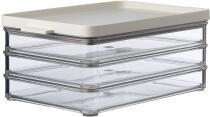 Mepal Kühlschrankdose omnia aufschnitt 3 schichte - nordic white