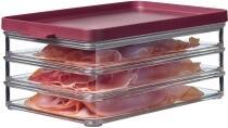 Mepal Kühlschrankdose omnia aufschnitt 3 schichte - nordic berry