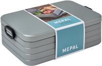 Mepal Lunchbox take a break xl - silver