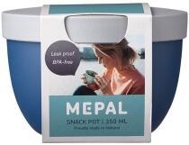 Mepal Snackpot ellipse 350 ml - nordic denim