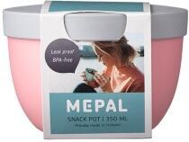 Mepal Snackpot ellipse 350 ml - nordic pink