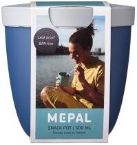 Mepal Snackpot ellipse 500 ml - nordic denim
