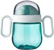 Mepal Antitropf-trinklernbecher mio 200 ml - deep turquoise