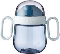 Mepal Antitropf-trinklernbecher mio 200 ml - deep blue