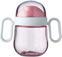 Mepal Antitropf-trinklernbecher mio 200 ml - deep pink