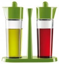 Kuhn Rikon Essig- & Öl-Ménage-Set Bistro in grün