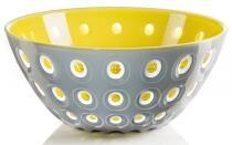 Guzzini Schüssel Le Murrine in grau-gelb