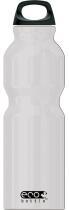 Eco Bottle Trinkflasche Basicline 1000 ml in silver metallic