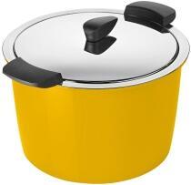 Kuhn Rikon Hotpan Servierkochtopf in gelb, 5 L