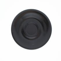 Kahla Pronto Untertasse 16 cm in schwarz