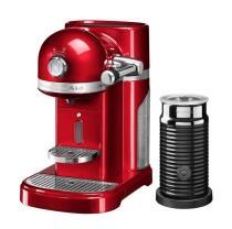 KitchenAid Nespressomaschine ARTISAN mit Milchaufschäumer liebesapfel rot