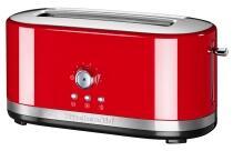 KitchenAid Langschlitztoaster mit manueller Bedienung in empire rot