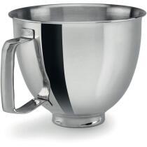 KitchenAid  Edelstahlschüssel für Mini poliert, mit Griff, 3,3 L