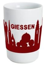Kahla Five Senses Maxi-Becher 0,35 l in touch! rot Giessen