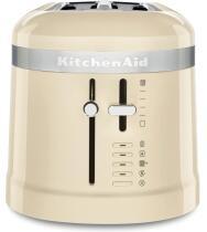 KitchenAid Design 4-Scheiben Langschlitztoaster in creme
