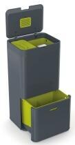 Joseph Joseph Abfall- und Recyclingbehälter Totem  60 in Graphit