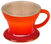 Le Creuset Kaffee Filter in ofenrot