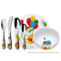 WMF Kindergeschirr-Set Winnie the Pooh, 6-teilig