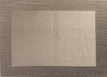ASA Tischset in Weboptik, bronze