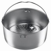 Einsatz Edelstahl gelocht und hoch für Schnellkochtöpfe von Silit (22 cm)