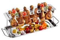 GEFU Hähnchenkeulenhalter BBQ