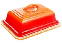 Le Creuset Butterdose in ofenrot