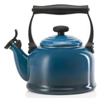 Le Creuset Wasserkessel Tradition deep teal