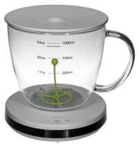 Carl Henkel Teefilter Tea TaC mit Timer, 1 Liter