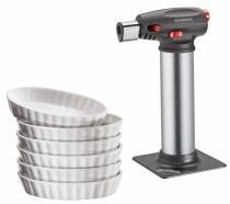Küchenprofi Creme Brulée Set, 7-teilig