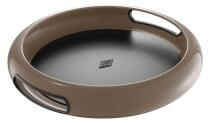Wesco Tablett Spacy Tray rund in warm grey