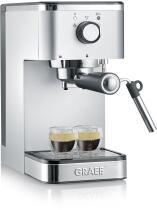 GRAEF Siebträger-Espressomaschine salita, silber