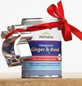 Herbaria Ginger & Bread Keksgewürz mit Ausstechform