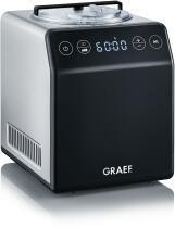 GRAEF Eismaschine IM 700, Edelstahl-schwarz