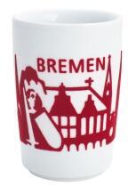 Kahla Five Senses touch! Maxi-Becher Bremen in rot