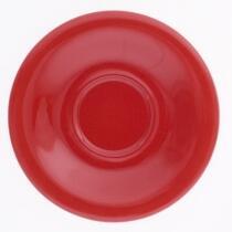 Kahla Pronto Untertasse 18 cm in rot