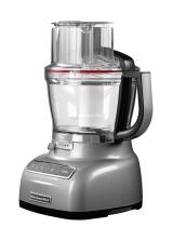 KitchenAid Food Processor 3,1 L in silber